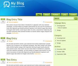wordpress-theme-glossyblue